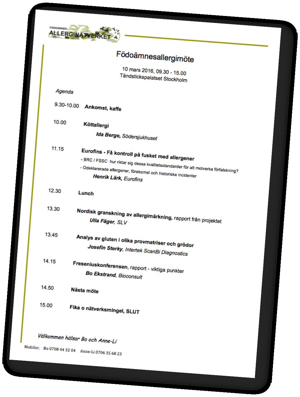 Agenda bild